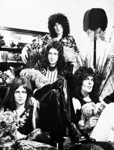 Редкие фотографии. Группа Queen, 6 июля 1973 года